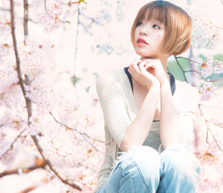 静岡県 桜 ポートレート