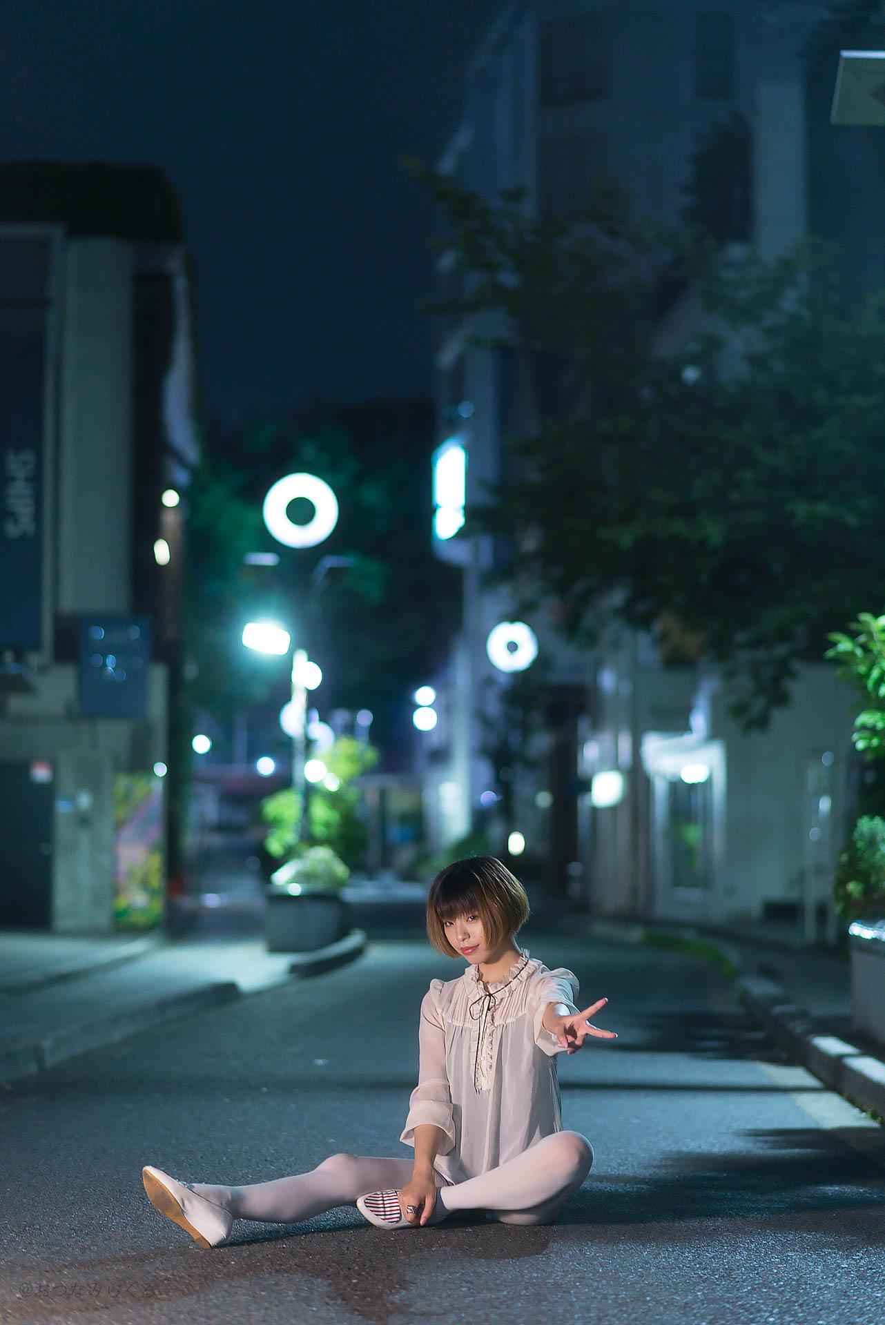 ポートレート 東京 ナイトストリート