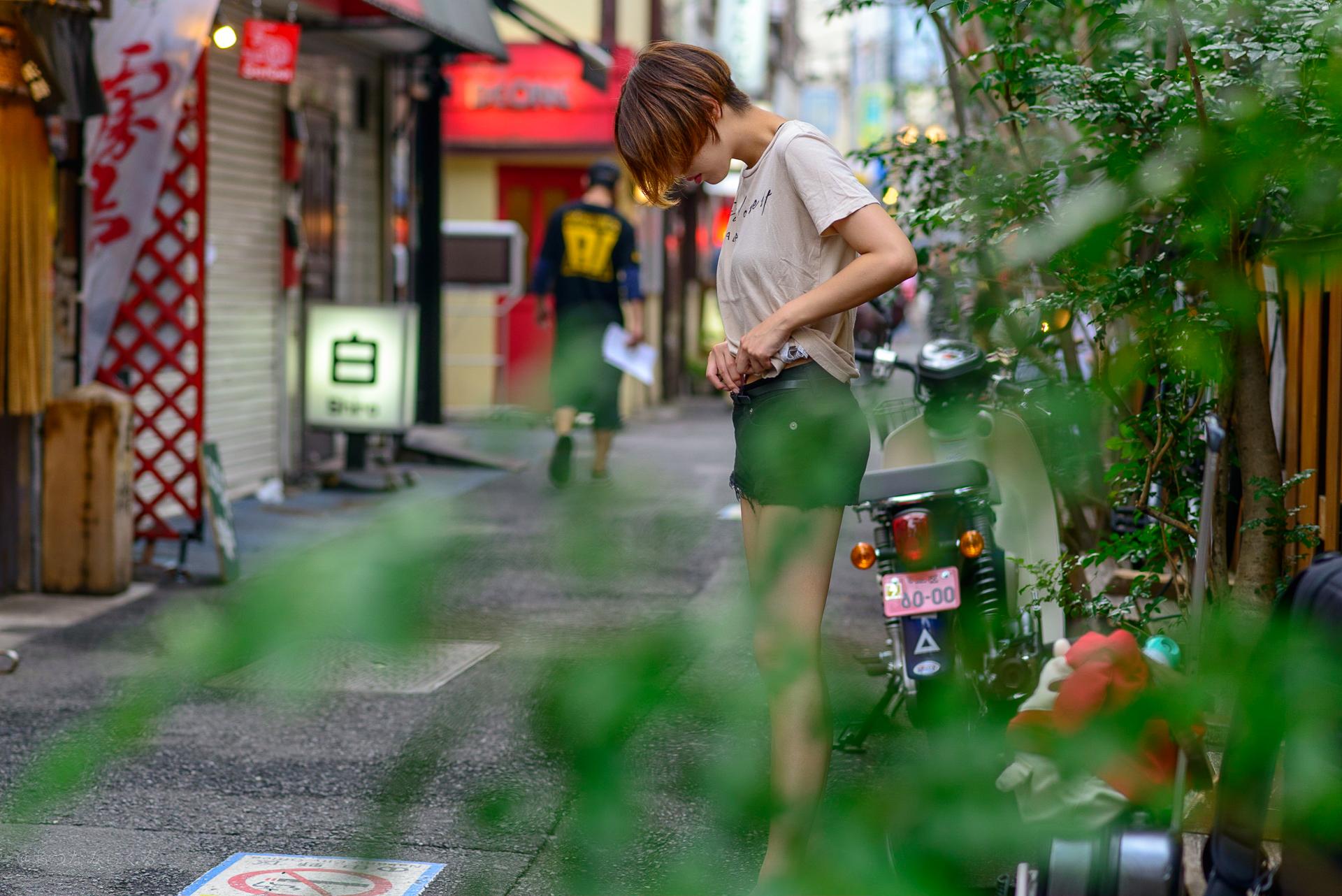 中野 ストリート ポートレート