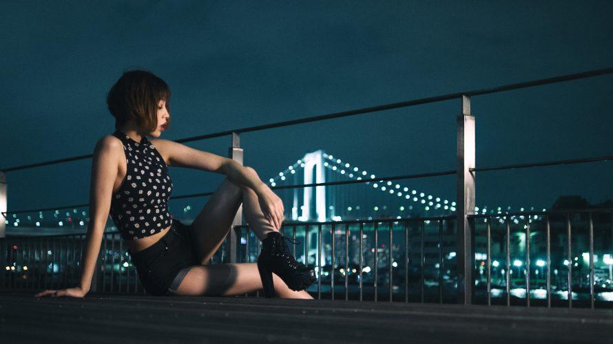 東京の夜ってこんなにお洒落なんだね。
