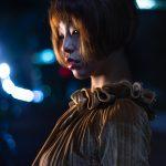 【LED】都会の夜景とナイトポートレート撮影【うずらフォト】