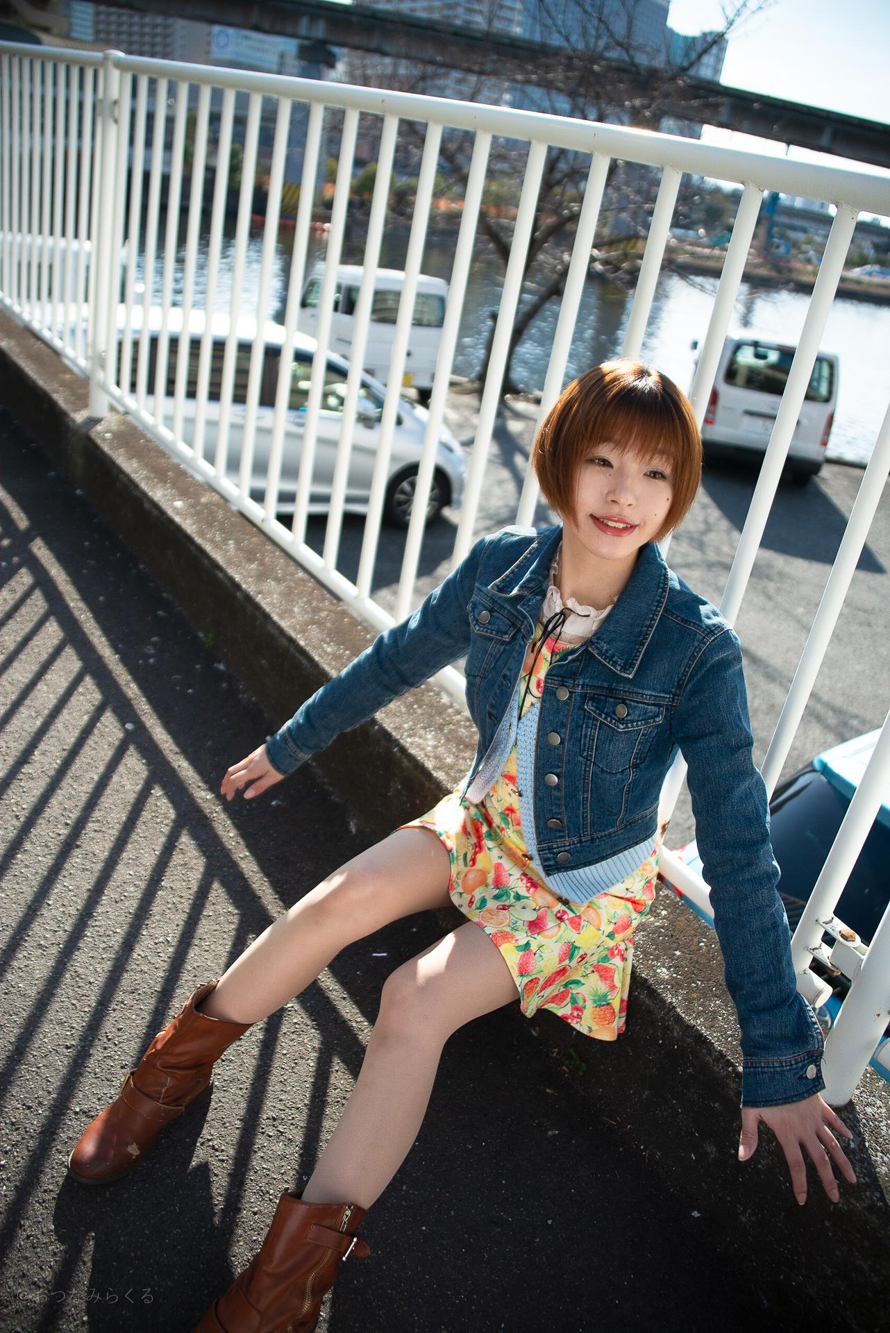 モデル撮影会 東京 屋外