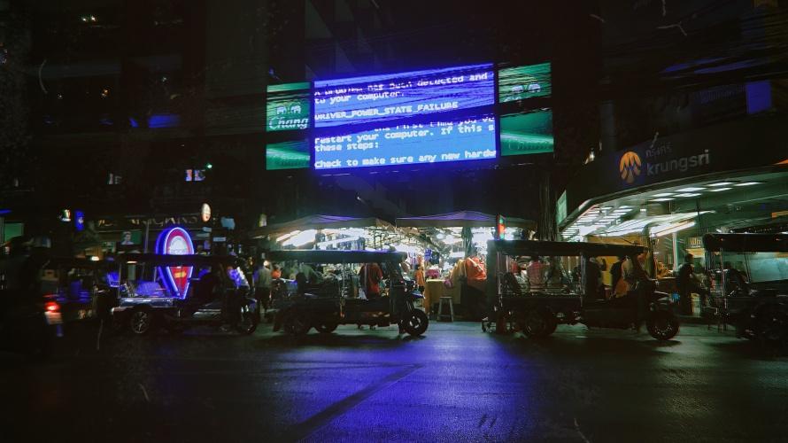 【タイ旅3】長旅だった1日目。タイ語に負けじと全力ありがとうで繋がる!