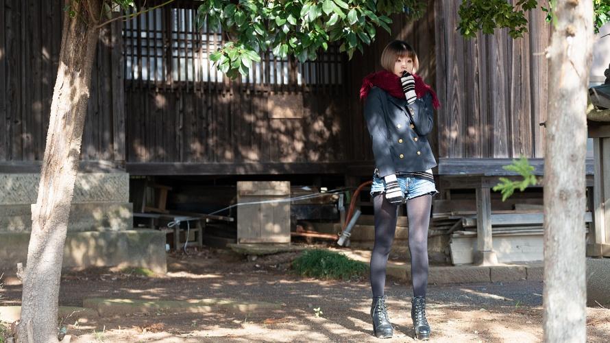 【ポートフォリオ】秋・冬に楽しむ屋外ポートレート【うずらフォト】