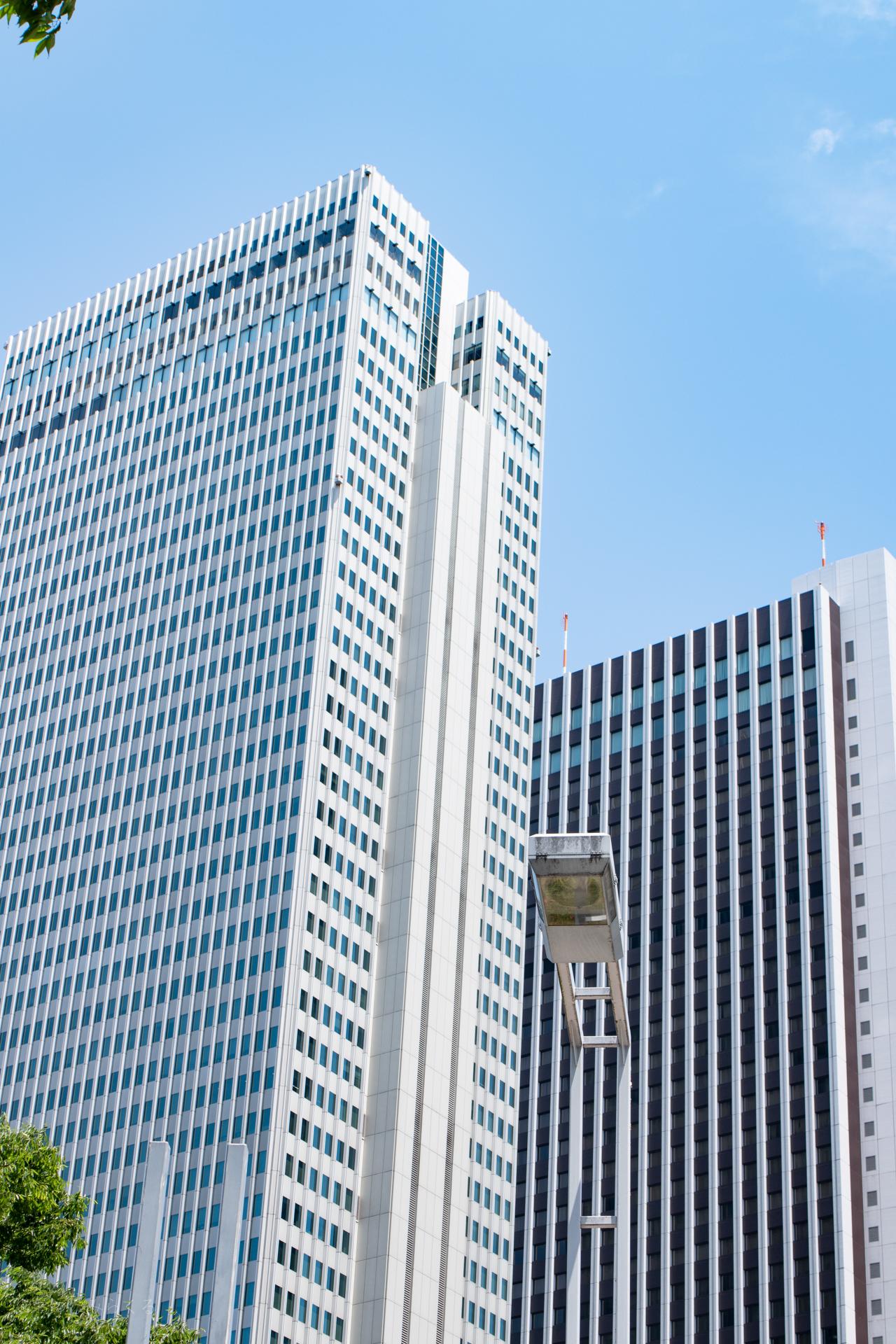 新宿 ビル群 スナップ