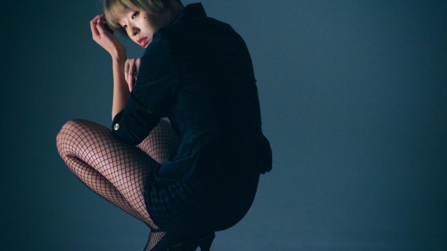 【撮影会♡】オールブラックコーデで攻めたファッション撮影!in RICO STUDIO