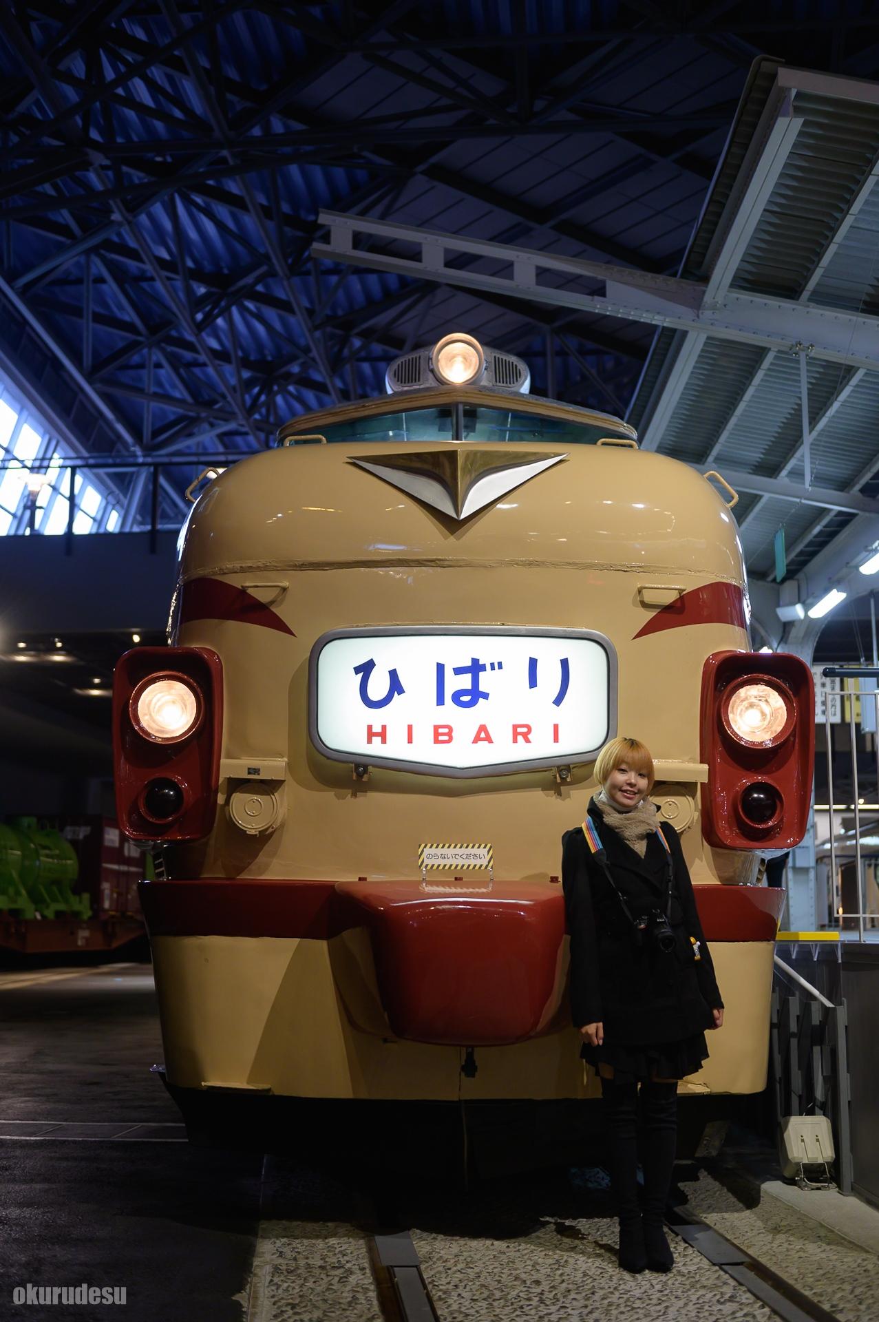 鉄道博物館 スナップ 特急ひばり号