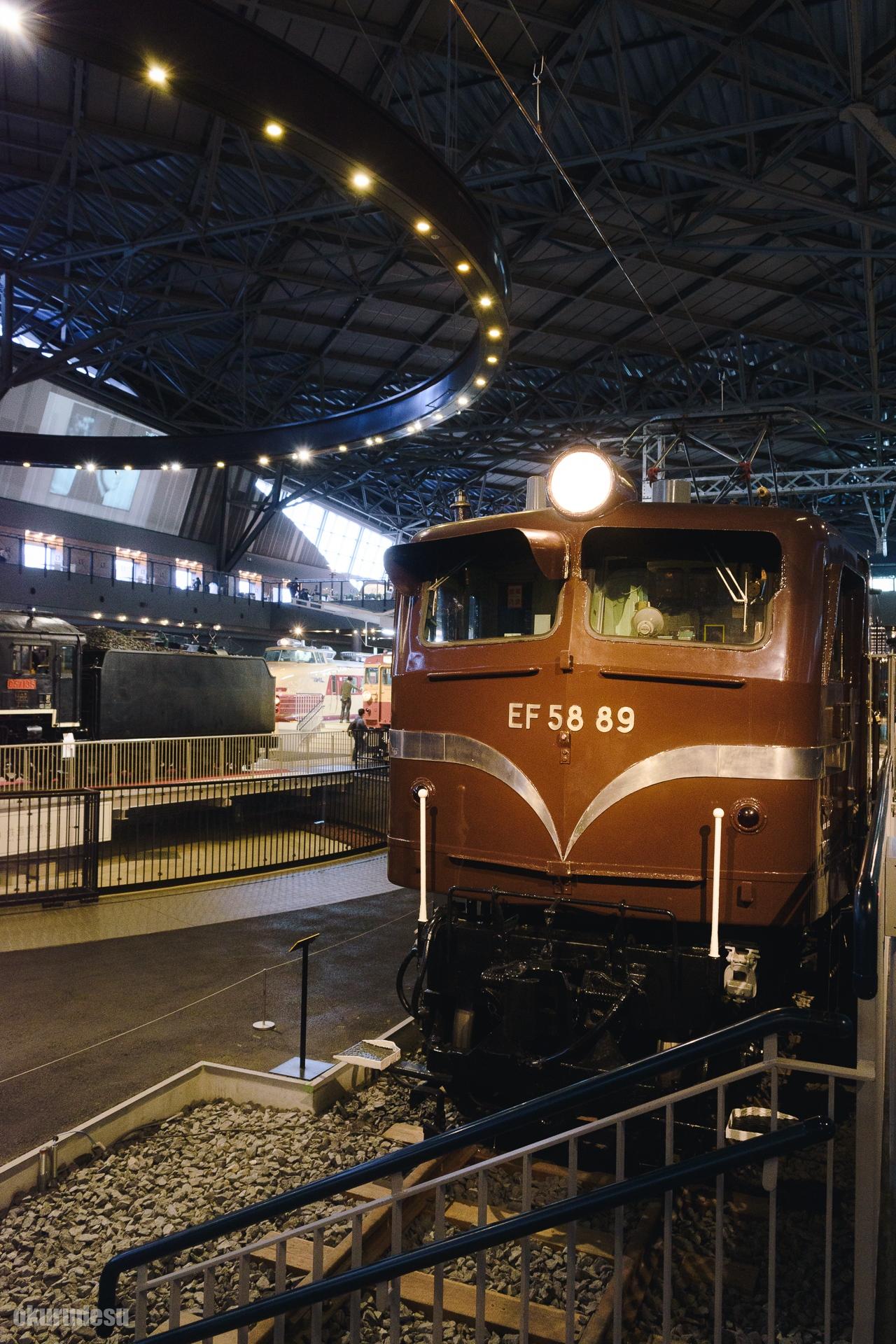鉄道博物館 スナップ 列車