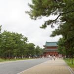 【おくる、京都へ行く。その①】平安神宮で御朱印帳をゲット!