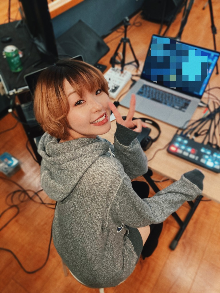 RICOSTUDIO music スタジオ 生配信