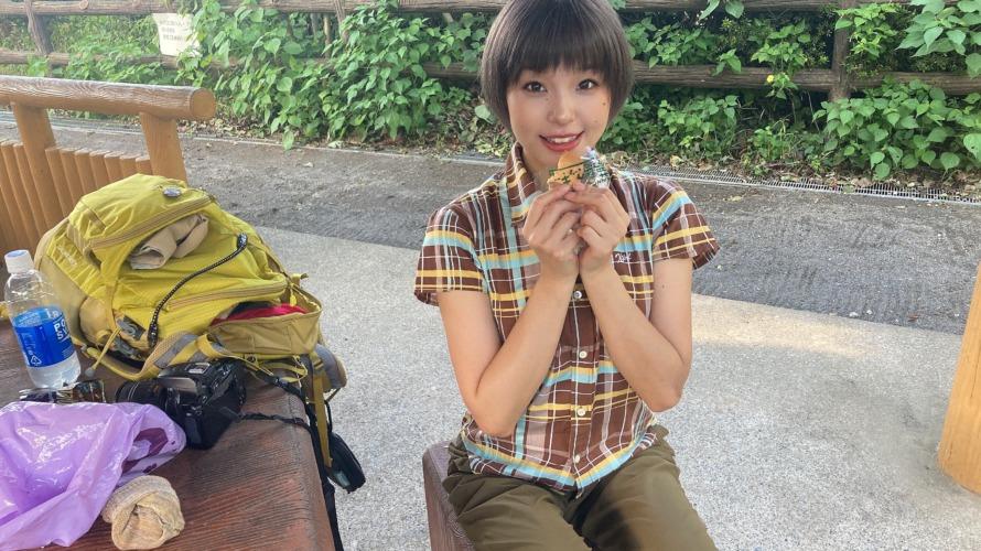 鷹取山で♡初♡山カフェ(●ノÅ`●)ノ