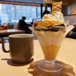 からふね屋珈琲三条本店 パフェ カフェ